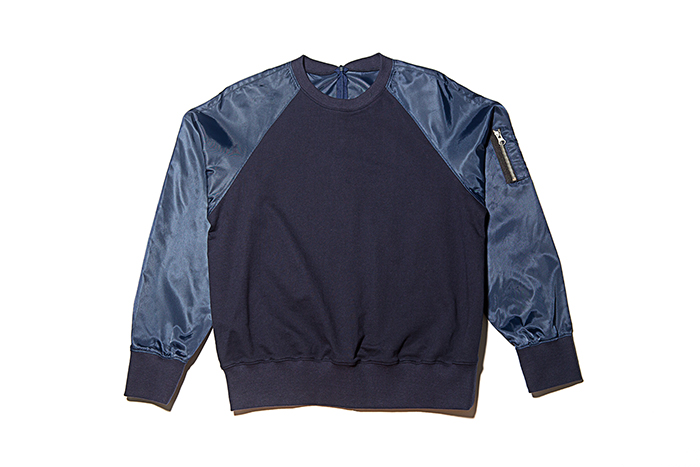 BOMBER SWEAT SHIRT for Female  (1ST CHUNPASA EDITION - al,thing X HALOMINIUM) (2014)